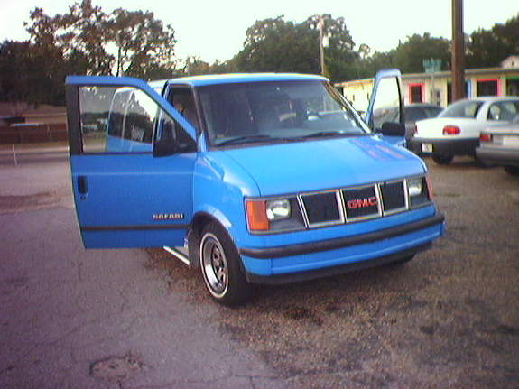 1986 GMC Safari Passenger