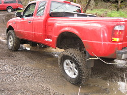 RED4X4RANGERs 2004 Ford Ranger Regular Cab