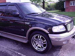 pushnweight 2002 Ford Expedition