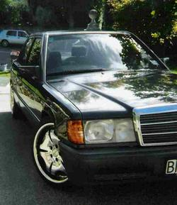 mistrislawzbenzs 1992 Mercedes-Benz 190-Class