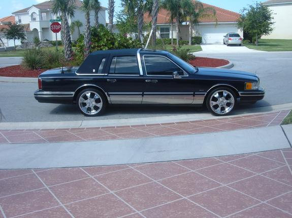 ducoty 1991 lincoln town car specs photos modification info at cardomain. Black Bedroom Furniture Sets. Home Design Ideas