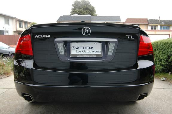 Yakuza Acura TL Specs Photos Modification Info At CarDomain - Acura tl license plate frame