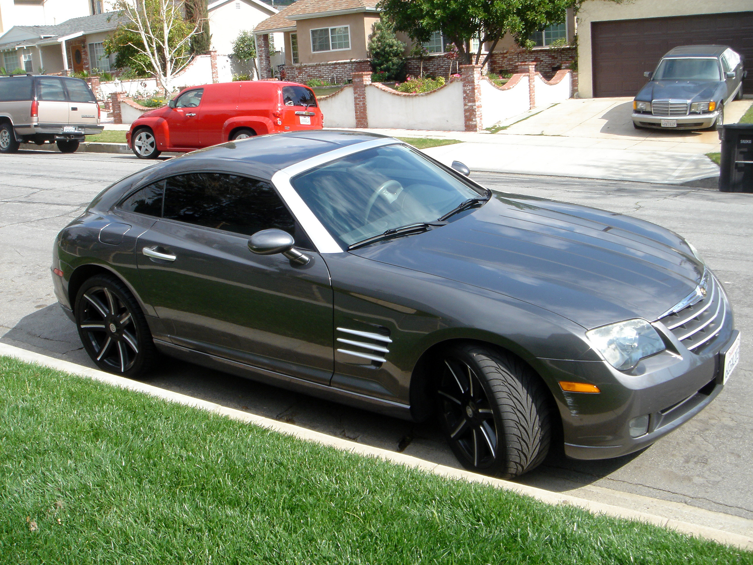 realrebel 2004 chrysler crossfire specs photos modification info at. Cars Review. Best American Auto & Cars Review