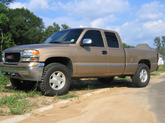 Large on Gmc Sierra Ext Cab