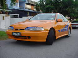 orangecoupes 1993 Hyundai Scoupe