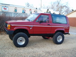 pyrokid1707s 1989 Ford Bronco II