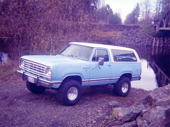XMP-1 1976 Dodge Ramcharger 6645262