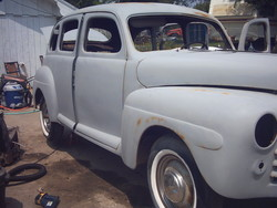 wedding 1946 Ford Freestyle