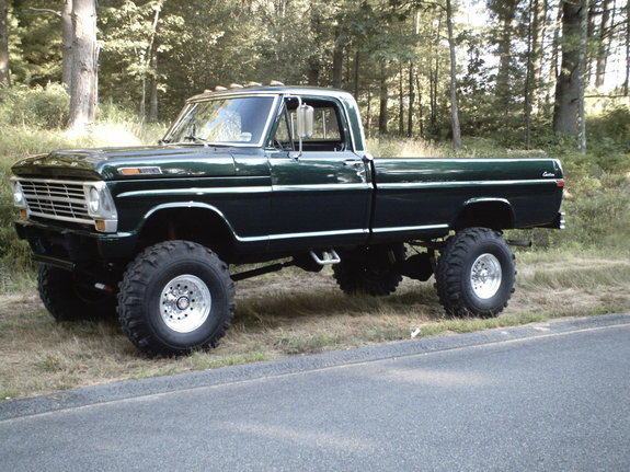 1969 Ford F250 4x4 Highboy ~ 1969 Ford F250 4x4 - My highboy 69