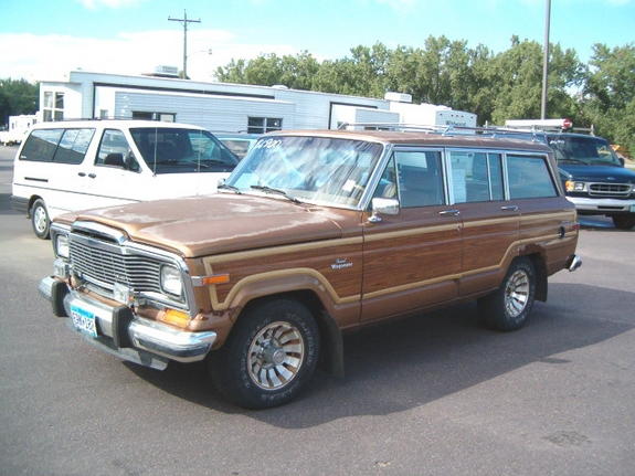 RPMPV1 1985 Jeep Grand Wagoneer Specs, Photos, Modification Info at