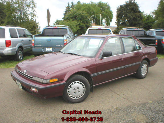 wykedspyder 1989 honda accord specs photos modification. Black Bedroom Furniture Sets. Home Design Ideas
