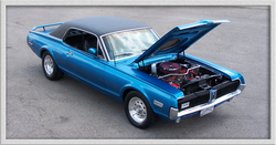 68CAT 1968 Mercury Cougar