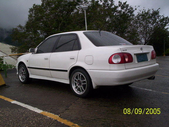 mikedgreatpaz 1999 toyota corolla specs photos modification info at cardomain. Black Bedroom Furniture Sets. Home Design Ideas