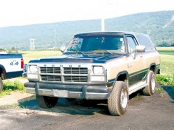 MuddyRam35 1991 Dodge Ramcharger