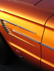orange65tbird 1965 Ford Thunderbird