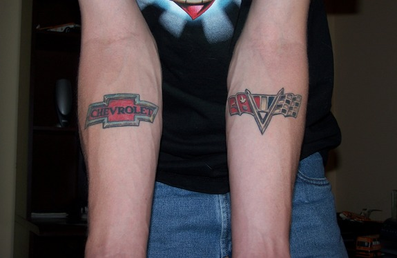 Chevy tattoos tattoos pinterest chevy tattoo chevy for Chevy bowtie tattoos
