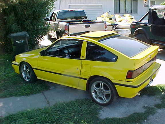 powman5k 1987 honda crx specs photos modification info. Black Bedroom Furniture Sets. Home Design Ideas