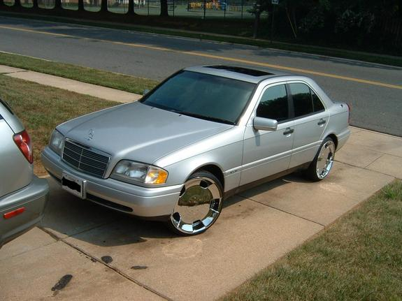 tupac_1996's 1998 Mercedes-Benz C-Class in maryland, MD