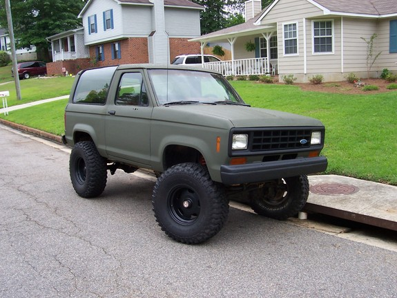 1988 ford bronco 2 weight