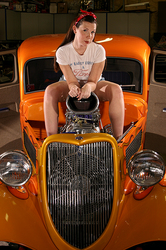 FordTBirdGirl 1934 Ford Custom
