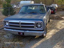 664047 1972 Dodge D150 Club Cab