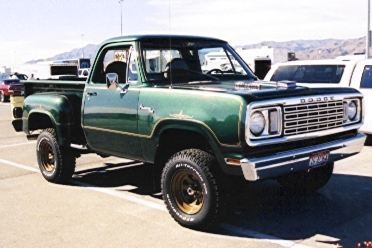 1977 Dodge W-Series Pickup