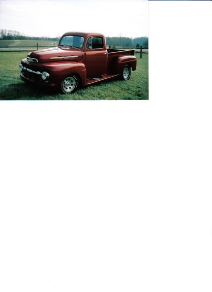 1951 Ford F150 Regular Cab