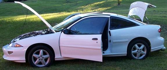 Large on 1998 Chevy Cavalier Z24
