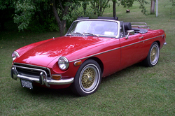GameFishers 1972 MG MGB