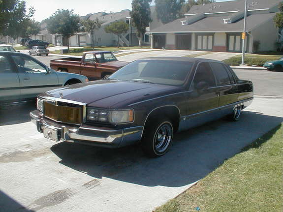 redvelvet 1994 cadillac fleetwood specs photos modification info at. Cars Review. Best American Auto & Cars Review