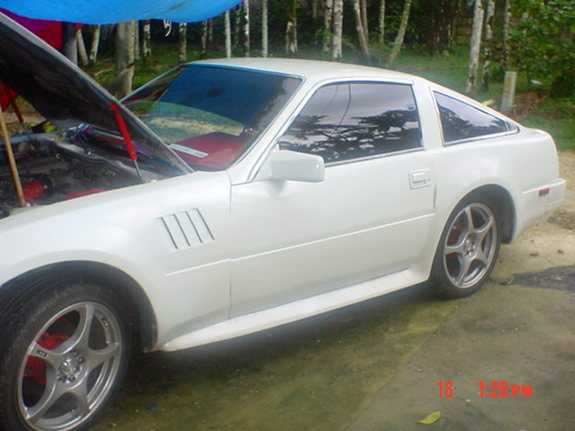 Large on Nissan 300zx 3 0 1986 Specs And Images