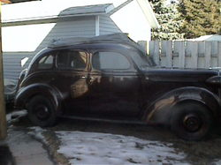 CarterCarburetor 1938 Plymouth Sedan