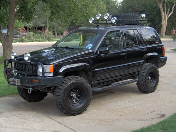 rebelzj 1995 jeep grand cherokee specs photos modification info at cardomain. Black Bedroom Furniture Sets. Home Design Ideas