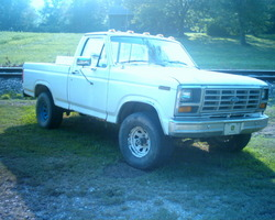 283hpcivics 1986 Ford F150 Regular Cab