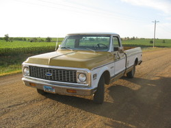 unexpected71 1971 Chevrolet Cheyenne