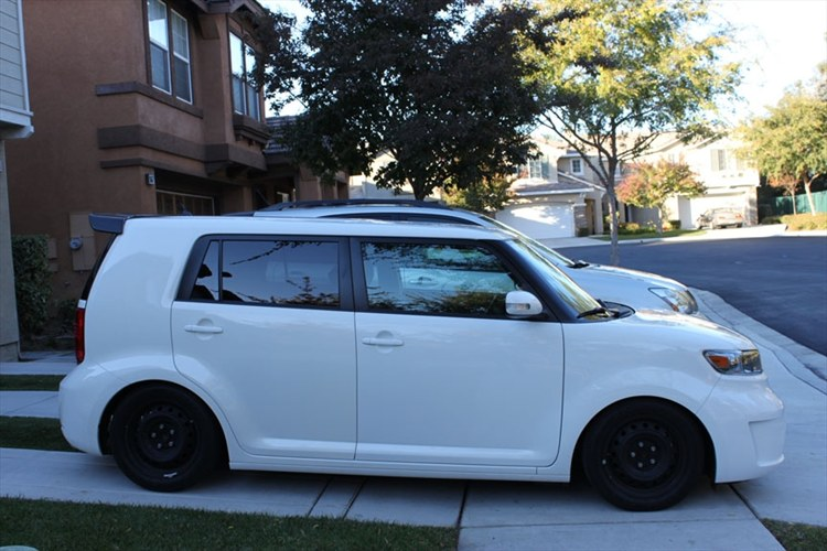 Scion Xb 2009 White. TOOL Box: 2009 Scion XB Super