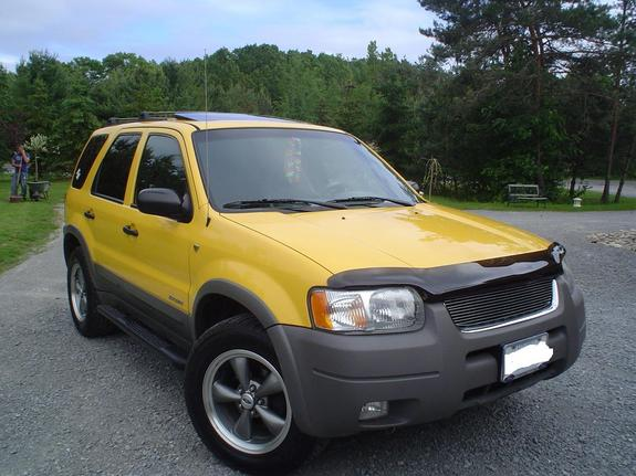 yellow 01 xcape 2001 ford escape specs photos. Black Bedroom Furniture Sets. Home Design Ideas