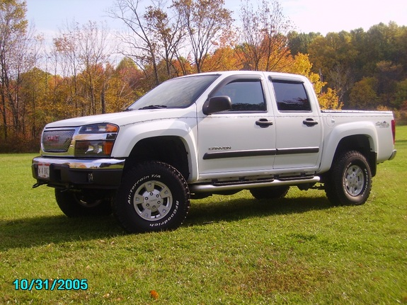 traildog500 2004 gmc canyon regular cab specs photos modification info at cardomain. Black Bedroom Furniture Sets. Home Design Ideas