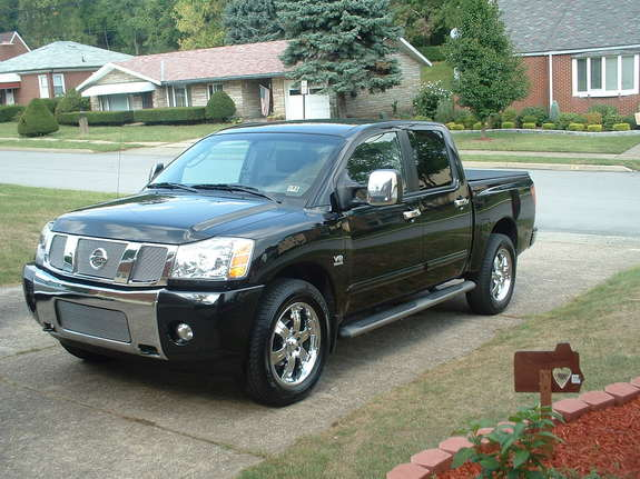 steelertitan 2004 nissan titan crew cab specs photos modification info at cardomain. Black Bedroom Furniture Sets. Home Design Ideas