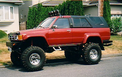 mikes4x4toy 1989 toyota 4runner specs photos. Black Bedroom Furniture Sets. Home Design Ideas