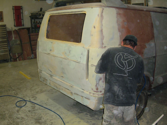 Another Tattooingsc 1974 Dodge Ram Van 150 post... - 6967641
