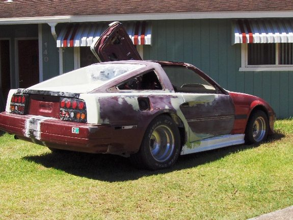 Deathchild 1985 Nissan 300zx Specs Photos Modification Info At