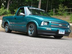 1FastDimes 1995 Chevrolet S10 Regular Cab