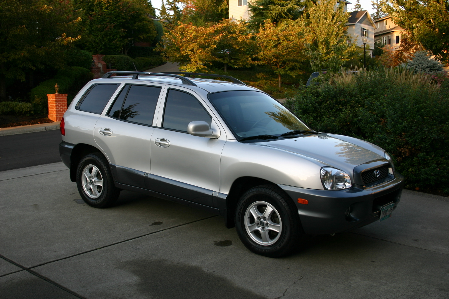lovemysantafe 2004 hyundai santa fe specs photos modification info at cardomain. Black Bedroom Furniture Sets. Home Design Ideas