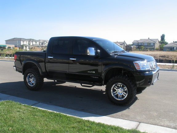 doitbby 2004 nissan titan crew cab specs photos modification info at cardomain. Black Bedroom Furniture Sets. Home Design Ideas
