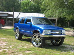 blackwallst 1996 Chevrolet Blazer