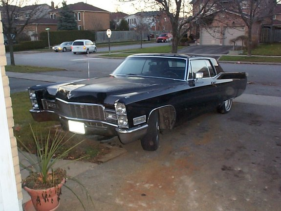 Another bagged20inchhoe 1968 Cadillac DeVille post... - 7008935