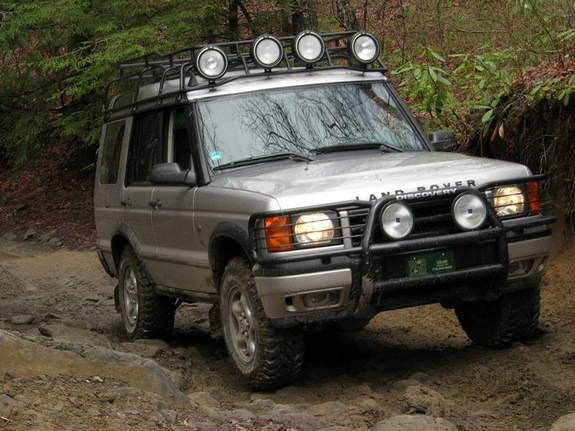 Land Rover Discovery Light Bar 2001 Land Rover Discovery
