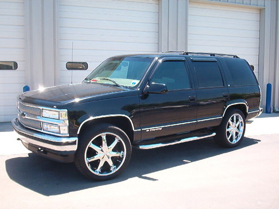 hoeon22ss 1998 chevrolet tahoe specs photos modification info at cardomain. Black Bedroom Furniture Sets. Home Design Ideas