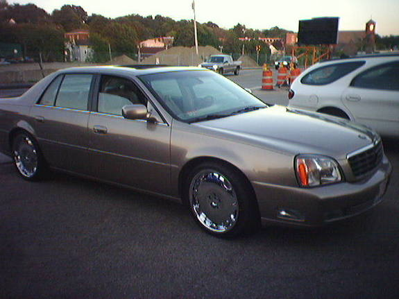 2002 Cadillac DeVille On 20s